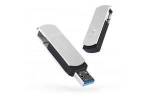 USB флеш накопитель eXceleram 16GB P2 Series Silver/Black USB 3.1 Gen 1 (EXP2U3SIB16)