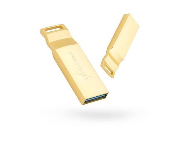 USB флеш накопитель eXceleram 64GB U2 Series Gold USB 3.1 Gen 1 (EXP2U3U2G64)- объявление о продаже  в Харькове