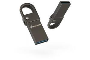 USB флеш накопитель eXceleram 64GB U6M Series Dark USB 3.1 Gen 1 (EXU3U6MD64)