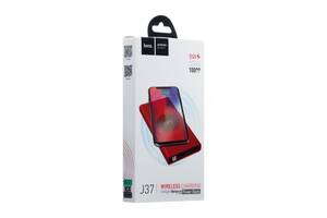 Внешний аккумулятор Power Bank Hoco J37 Wisdom Wireless 10000 mAh SKL11-230789