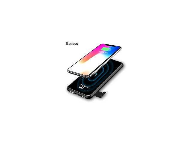 бу Внешний акумулятор Power Bank Baseus Full screen wireless charge 8000mAh в Самборе