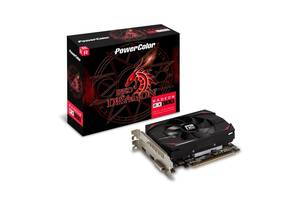 Видеокарта AMD Radeon RX 550 4GB GDDR5 Red Dragon PowerColor (AXRX 550 4GBD5-DH)