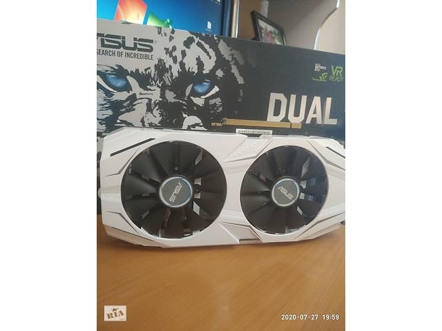 купить бу Видеокарта Asus Dual GTX 1060 3Gb в Черкассах