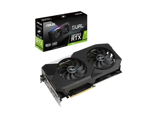 купить бу Видеокарта ASUS GeForce RTX3070 8Gb DUAL (DUAL-RTX3070-8G) в Харькове