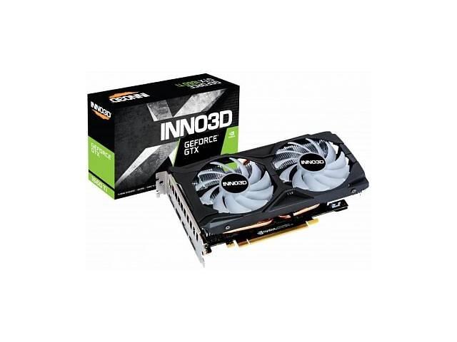 продам Видеокарта INNO3D GeForce GTX1660 Ti 6144Mb TWIN X2 OC RGB (N166T2-06D6X-1710VA15LB) бу в Харькове