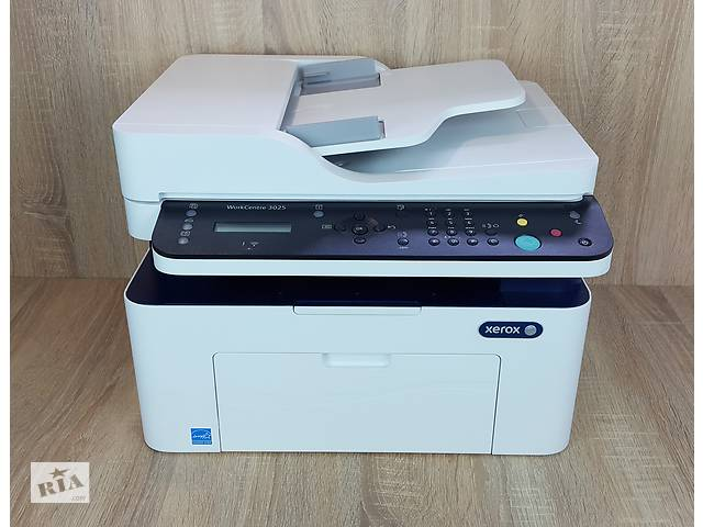 Xerox WorkCentre 3025 Практически новое мфу с WI-Fi. 7500 пробег.- объявление о продаже  в Киеве