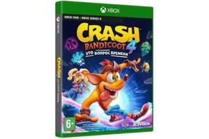 Игра Xbox Crash Bandicoot 4: It`s About Time [Blu-Ray диск] (78550RU)