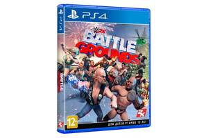 Игра Xbox WWE Battlegrounds [Blu-Ray диск] (5026555364164)