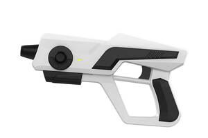 Игровой контроллер гемпад с креплением для телефона в форме пистолета Shinecon SC-AG13 Белый (gr_014688)