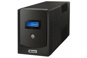 Источник бесперебойного питания Mustek PowerMust 1500 LCD/1050W (1500-LCD-LIS-T30)