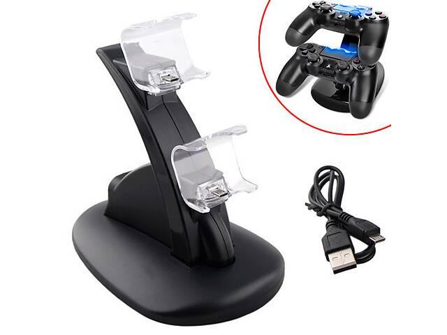 продам Зарядная док станция для зарядки 2 геймпадов DualShock 4 PS4 бу в Харькове