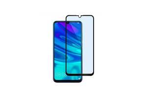 Защитное 3D стекло для Huawei P Smart+ 2019  | Полное покрытие (Черный) | Хуавей
