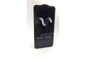 Защитное стекло 3D для Xiaomi Redmi Note 9 Черное