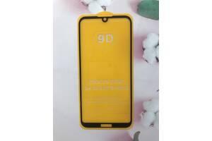 Защитное стекло 9D для Huawei Y5 2019 Black