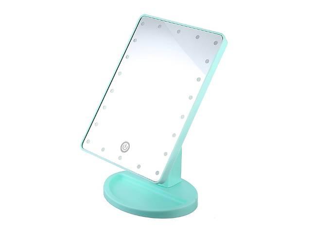 продам Настольное зеркало Large Led Mirror Turquoise (hub_ThYH49152) бу в Киеве