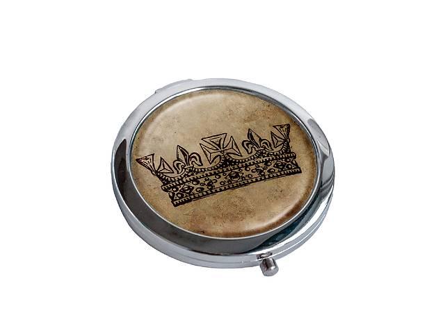 купить бу Зеркальце косметическое DM 01 Королева коричневое - 176843 в Одессе