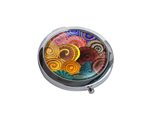 купить бу Зеркальце косметическое DM 01 Спирали разноцветное - 176849 в Одессе