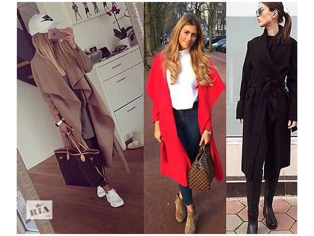 купить бу Демисезонное пальто из кашемира в Николаеве