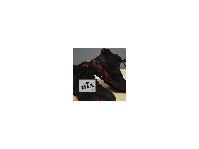 купить бу Демисезонные кожаные ботинки Geox (eur 31, uk 12,5; us 13,5; 19 см) в Донецке