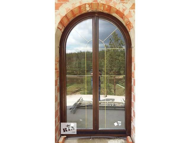продам деревянные окна из дубового евробруса бу в Тернополе