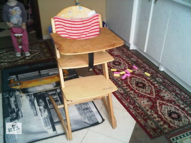 детский деревяный стул- объявление о продаже  в Борисполе