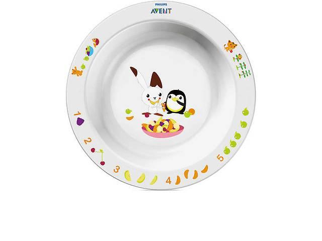 продам Детская большая глубокая тарелка AVENT 12мес+ (SCF704/00) бу в Киеве