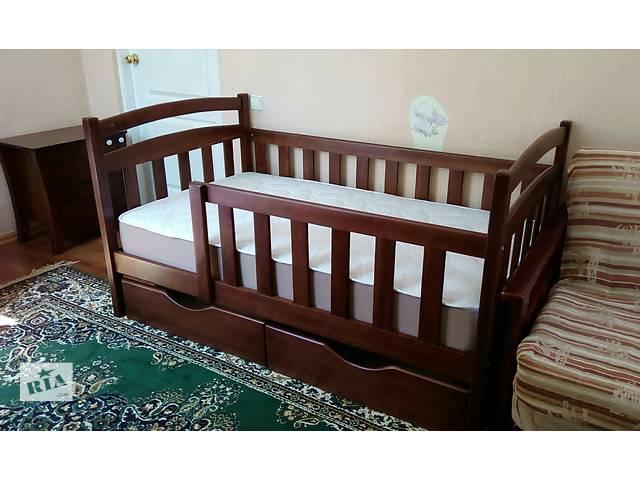продам Детская кровать-кроватка Карина с дерева! бу в Киеве