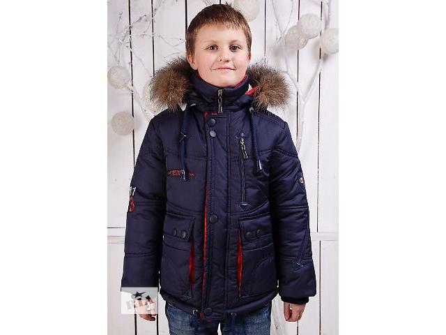 Дитяча зимова куртка-парку на хлопчика 6-11 років - Дитячий одяг в ... 89e770cef1b12