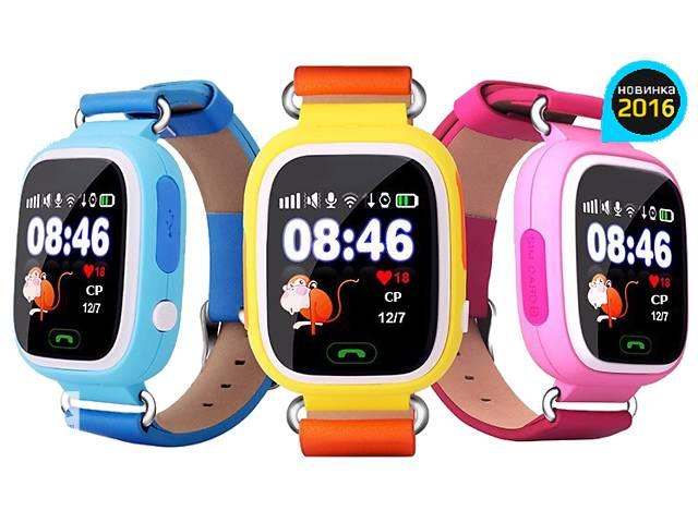 бу Подарок ребенку Умные часы GPS детские Smart Baby Watch Q90 ОРИГИНАЛ в Киеве