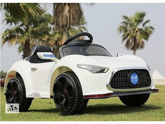 купить бу Дитячий електромобіль M 3401 EBLR-1 на гумових ЄВА колесах, сидіння шкіра в Одесі