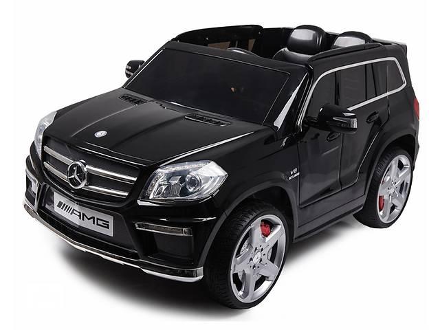 Дитячий електромобіль Mercedes AMG GL63: шкір.сидіння і гумові колеса EVA- объявление о продаже  в Львові