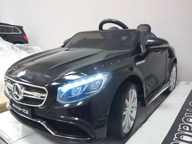 бу Детский электромобиль Mercedes S63 - M 2797 кожаное сиденье в Львове