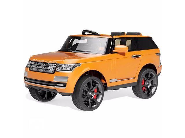Детский электромобиль Range Rover SUV 12V, 8кмч, 2. 4G - ОРАНЖЕВЫЙ- объявление о продаже  в Львове