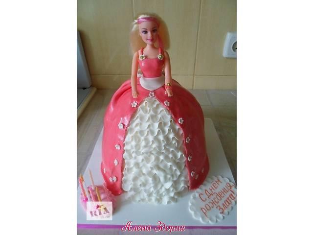 продам Детский торт кукла Барби бу в Киеве