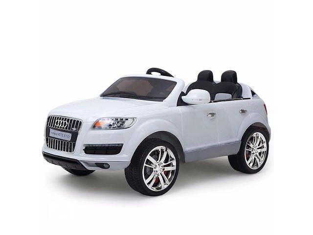 купить бу Детский электромобиль Audi Q7 Quattro: лицензия, покраска WHITE в Киеве