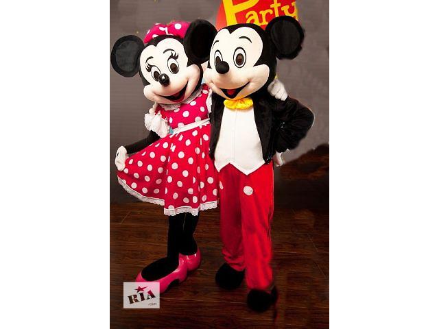 продам Доставка цветов ростовыми куклами Микки и Минни Маус бу в Краматорске