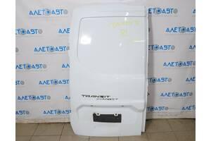 Дверь багажника левая голая Ford Transit Connect MK2 13- груз без камеры, белый Z2, вмятина DT1Z-6140011-P разборка Але