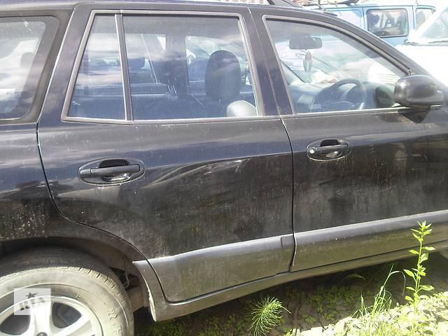 продам  Дверь передняя для легкового авто Hyundai Santa FE бу в Ужгороде