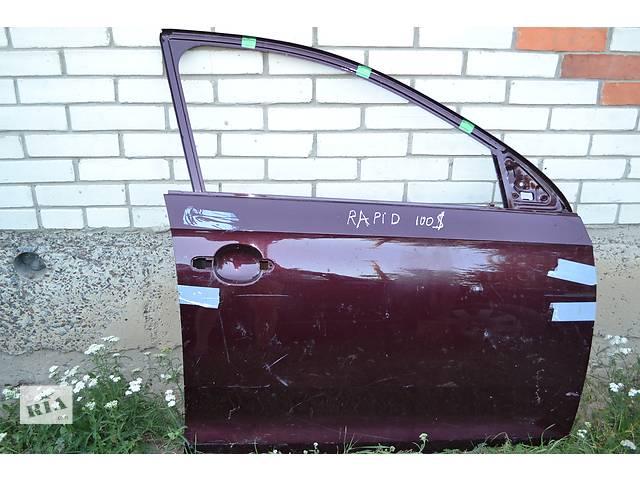 купить бу  Дверь передняя для легкового авто Skoda Rapid в Остроге