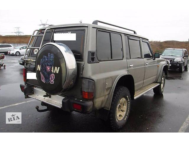 Дверь задняя для Nissan Patrol 1996- объявление о продаже  в Львове