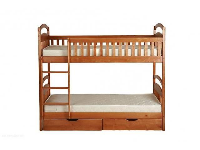 продам Двухъярусная кровать Карина с ящиками и с матрасами напрямую от мебельной фабрики бу в Одессе