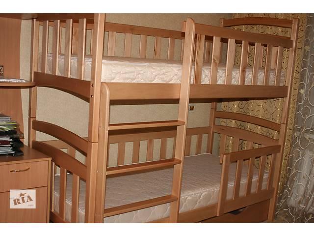 продам Двухъярусная детская новая кровать-трансформер Карина-Люкс! бу в Киеве