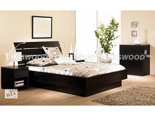 продам Двуспальная кровать Латте из натурального дерева бу в Киеве