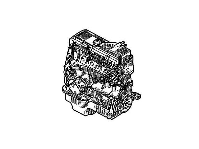 купить бу Двигатель в сборе Dacia Solenza E7J 262 Б/У. в Одессе
