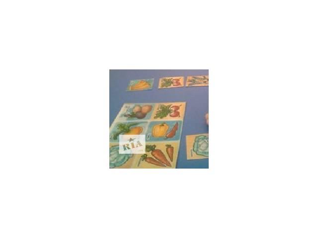 бу Дидактическая игра-лото-Овощи-Фрукты-Одежда-Мебель в Никополе (Днепропетровской обл.)
