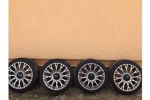 Новые диски с шинами Fiat 500