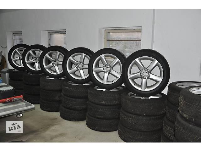 купить бу  диск с шиной для легкового авто Audi A8 235/50/19 в Ужгороде