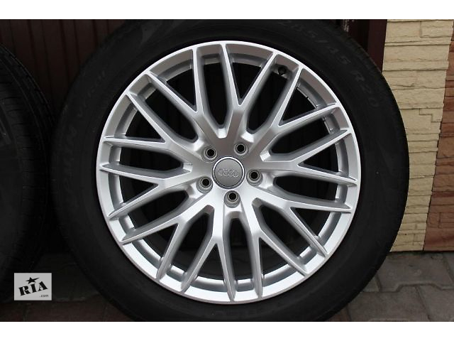 продам диск с шиной для легкового авто Audi Q7 4M 285/45/20. бу в Ужгороде