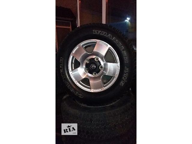 Б/у диск с шиной для легкового авто Toyota Land Cruiser (все)- объявление о продаже  в Киеве