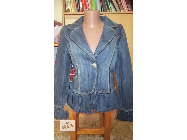 продам Джинсовая куртка с вышивкой бу в Днепре (Днепропетровск)